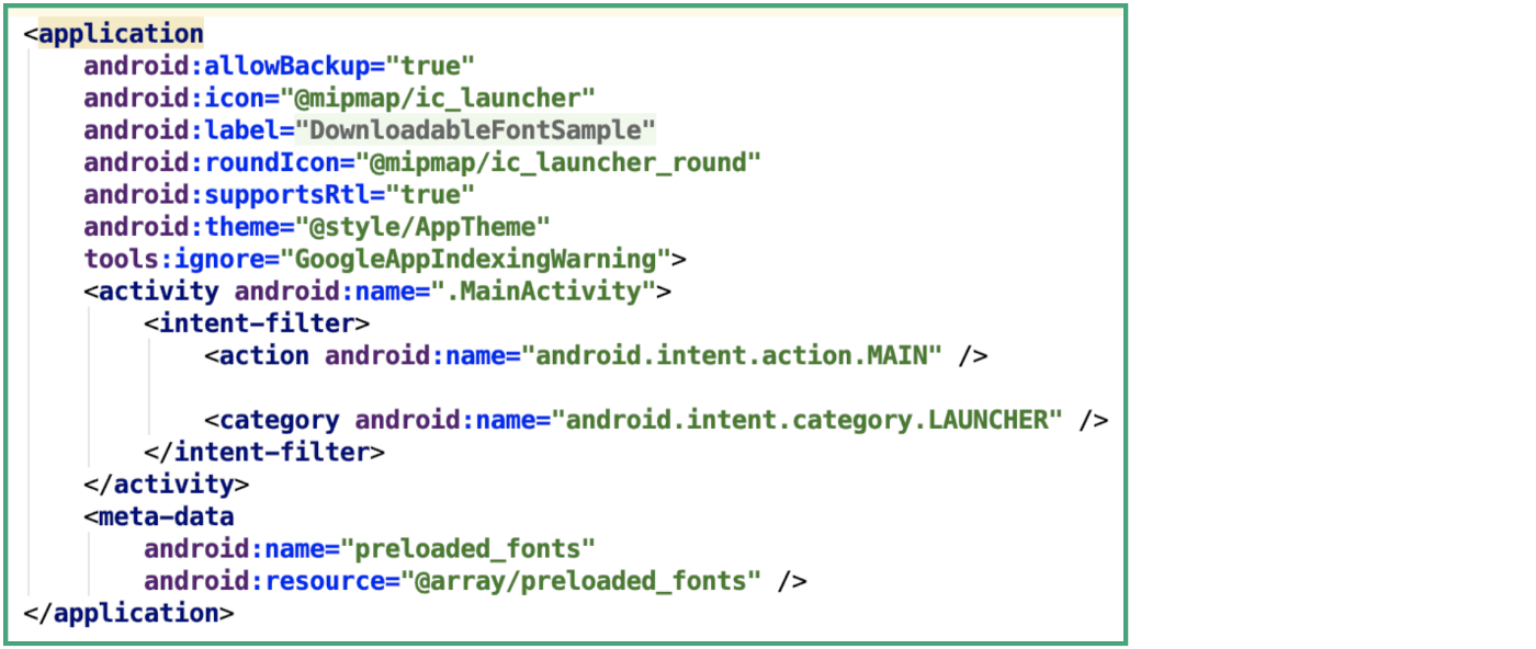 Font (Typeface) in Android Application - ProAndroidDev