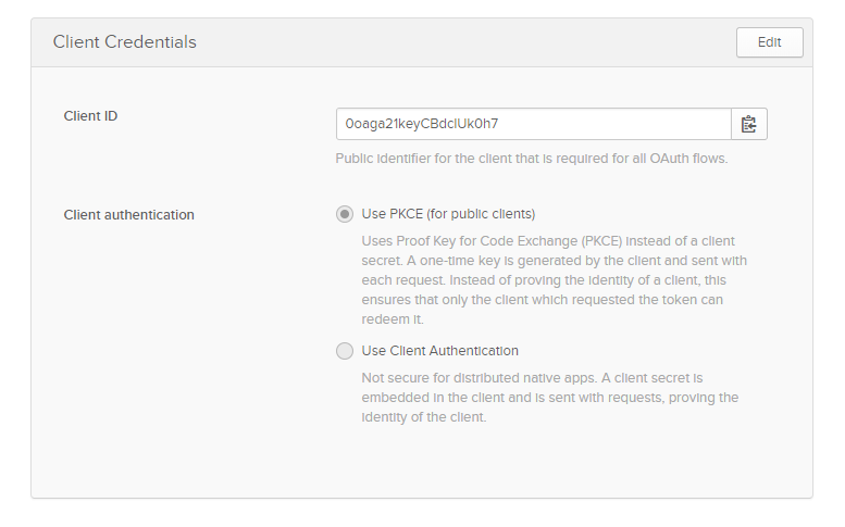 A simple and secure authentication using Okta Services in