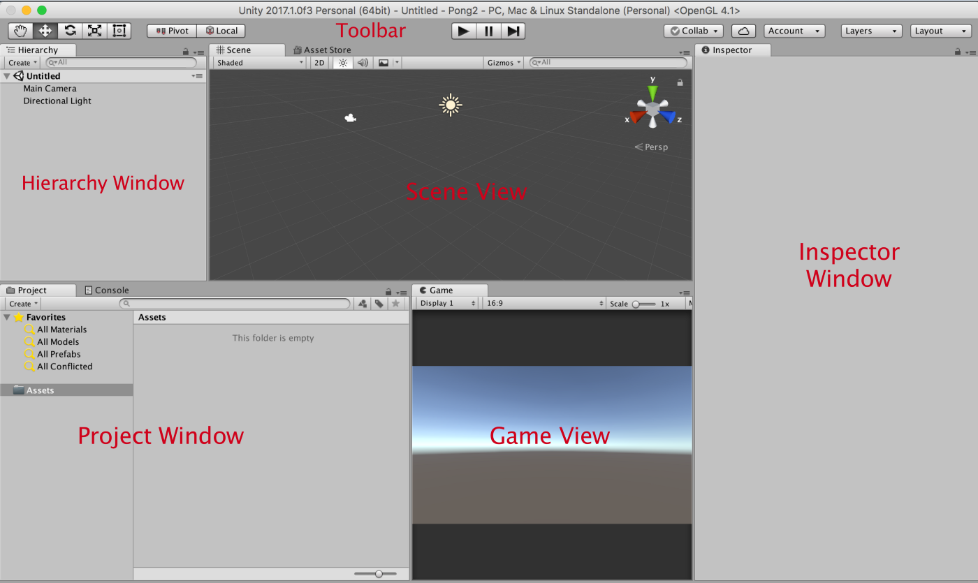 Unity from an iOS developer's perspective — making the game Pong