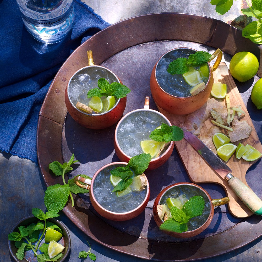 Image of Cocktail Collectives Moscow Mule with lime