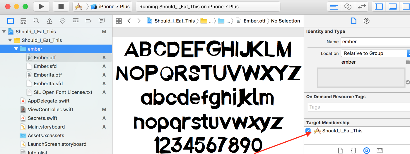 How to Import Fonts into Xcode (Swift 3) - Yay It's Erica - Medium