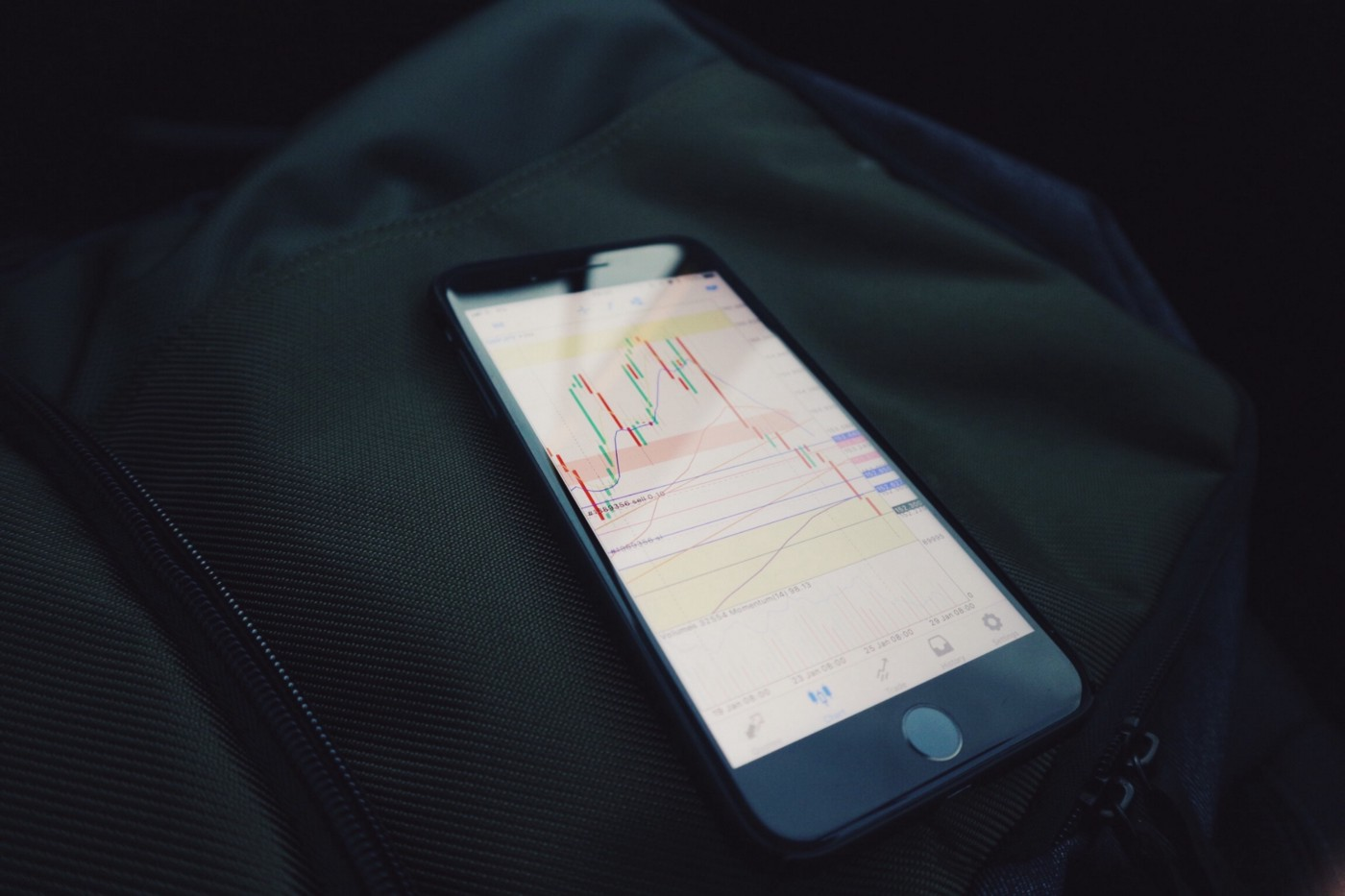 Stock investment tracking Photo by Mark Finn on Unsplash