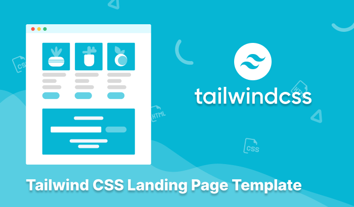 Tailwind CSS Landing Page Templates