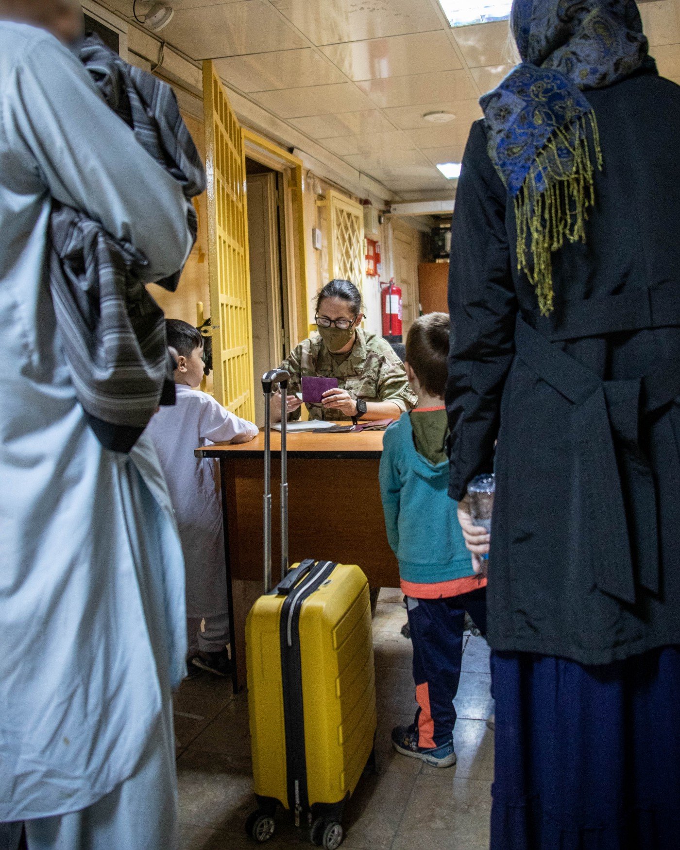 British citizens and dual nationals residing in Afghanistan being relocated to the UK.
