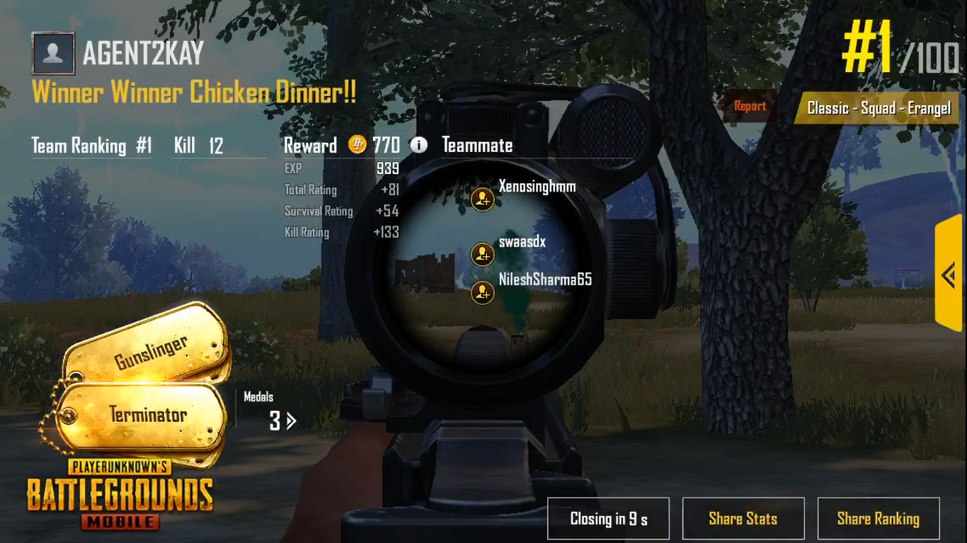 How To Get Chicken Dinners on PUBG Mobile - Danie Rayn - Medium