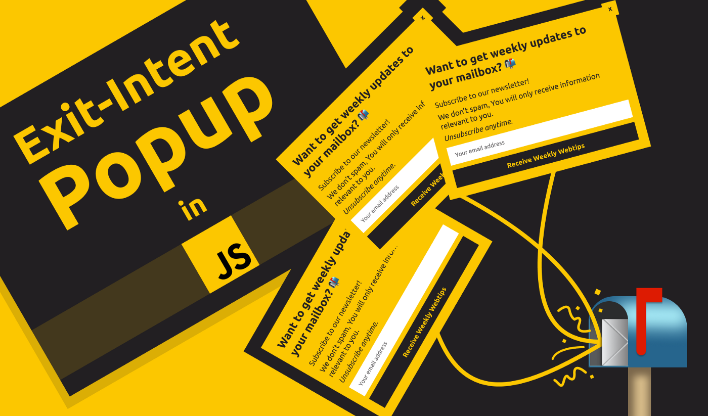 How to Make an Effective Exit-Intent Popup in JavaScript