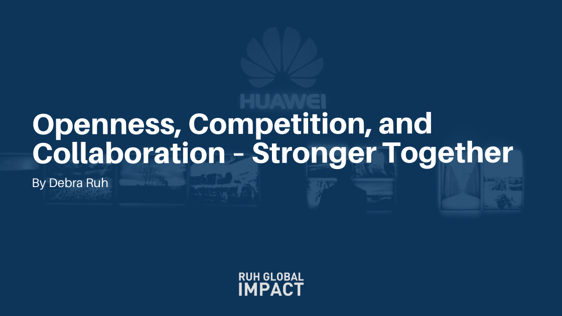 Openness, Competition, and Collaboration—Stronger Together