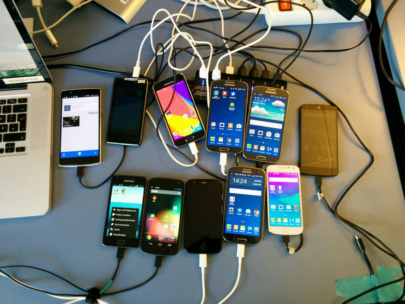 Android Smartphone Test Farm - XING Engineering