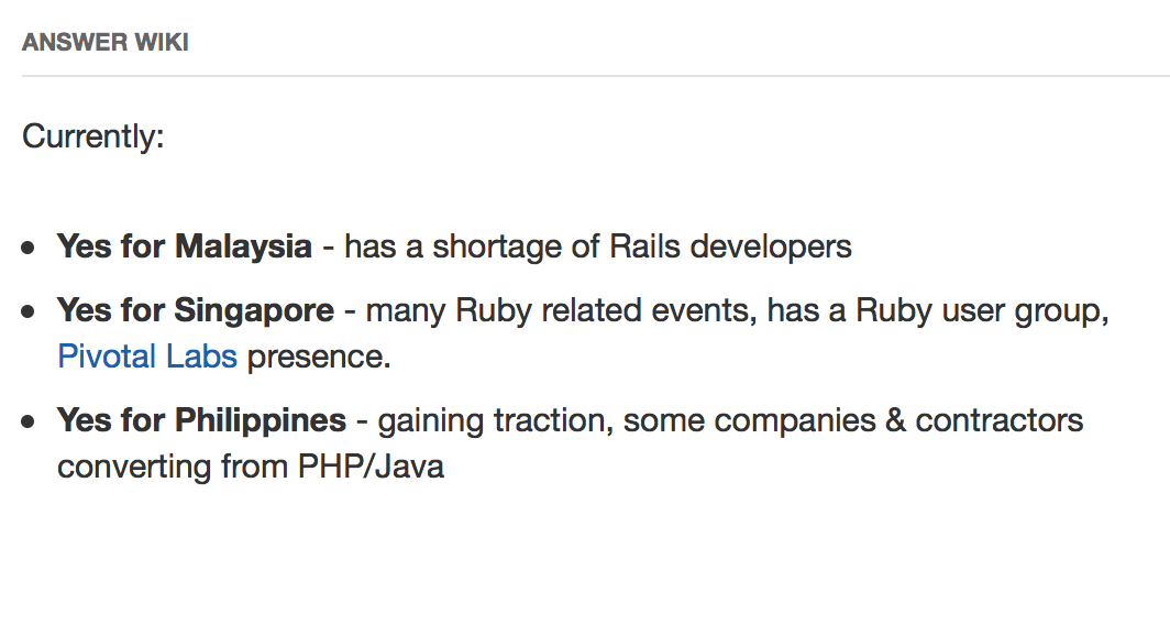 Is Ruby Obsession Going Off Rails? - Kevin Tan - Medium