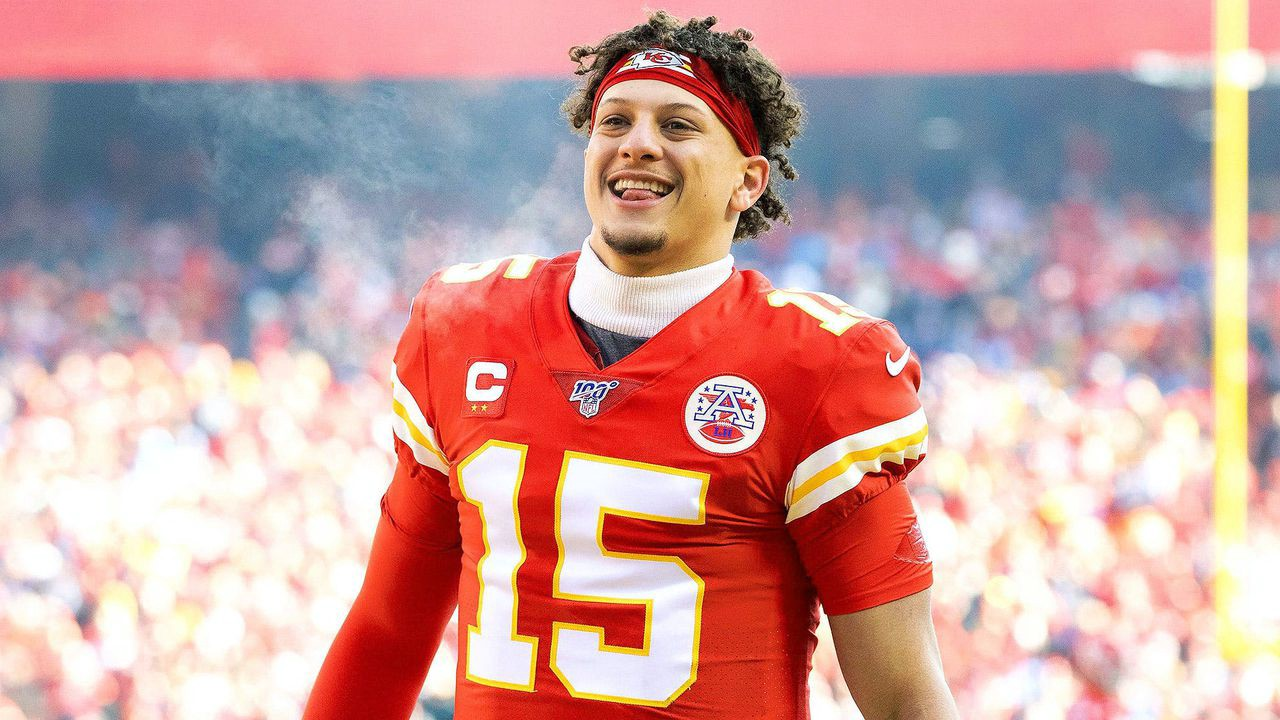 Quarterback of the Kansas City Chiefs Patrick Mahomes