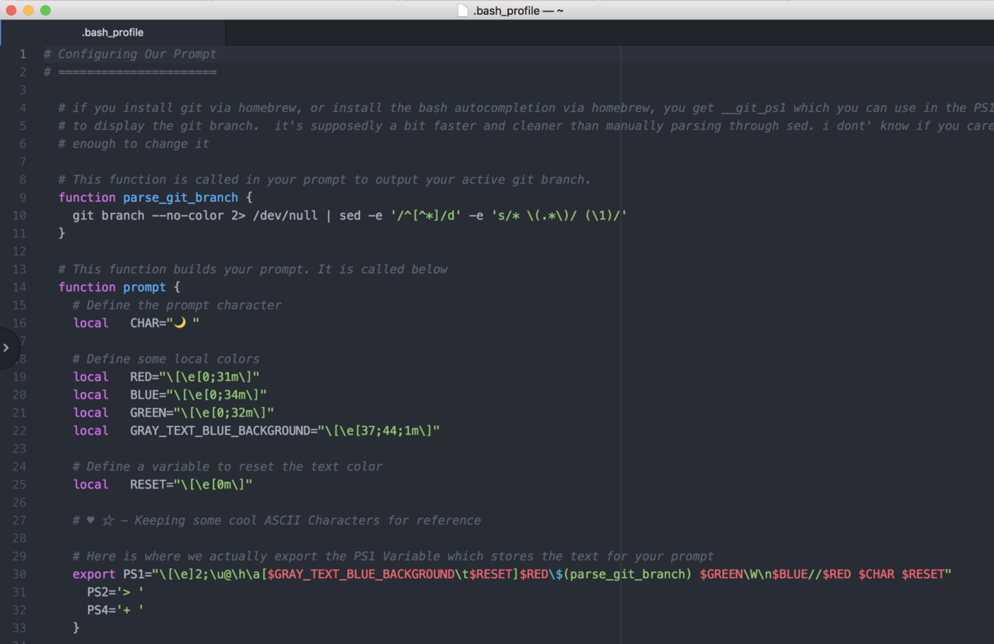 Customizing the styles and shortcuts of your Mac terminal