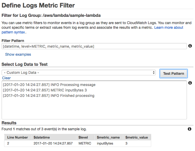 Cloudwatch Alarm Multiple Metrics