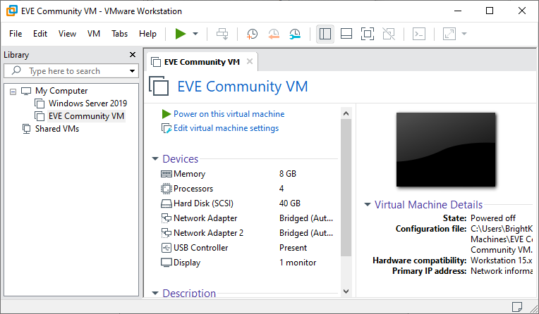 Configuring EVE-NG on VMWare Running on Windows 10 Hosts