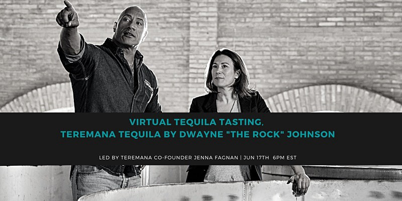 """Dwayne """"The Rock"""" Johnson and Jenna Fagnan of Teremana Tequila discuss production"""