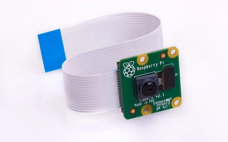 An image of the Raspberry Pi camera module.