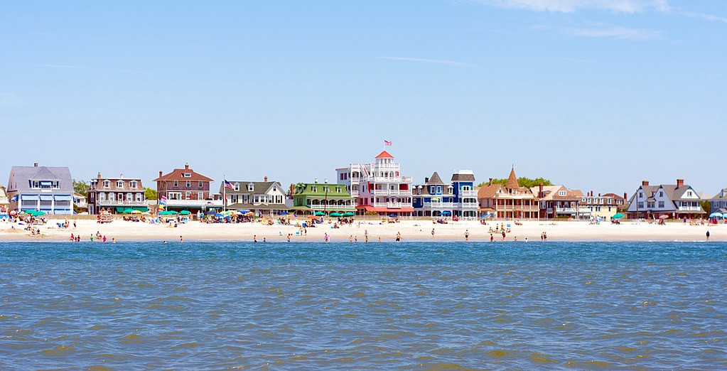 A photo of Cape May.