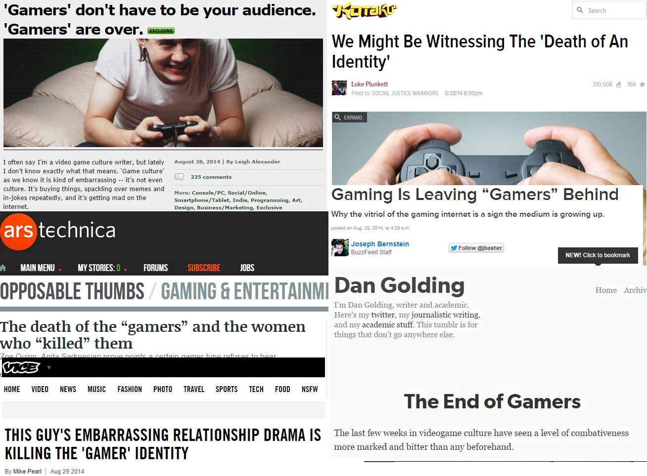 Gamergate The response to declaring war on video games