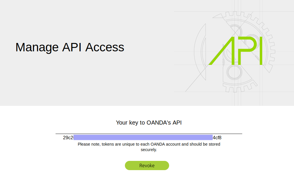 Working with Oanda's API, Part 1 — Setting up your API trading account