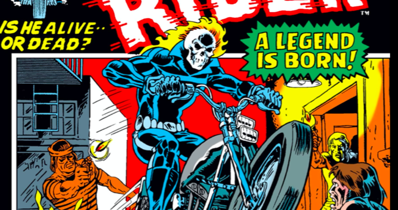 Ghost Rider's first cover appearance
