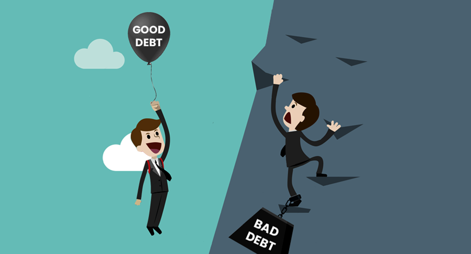 """There is a thing called """"Good Debt"""""""