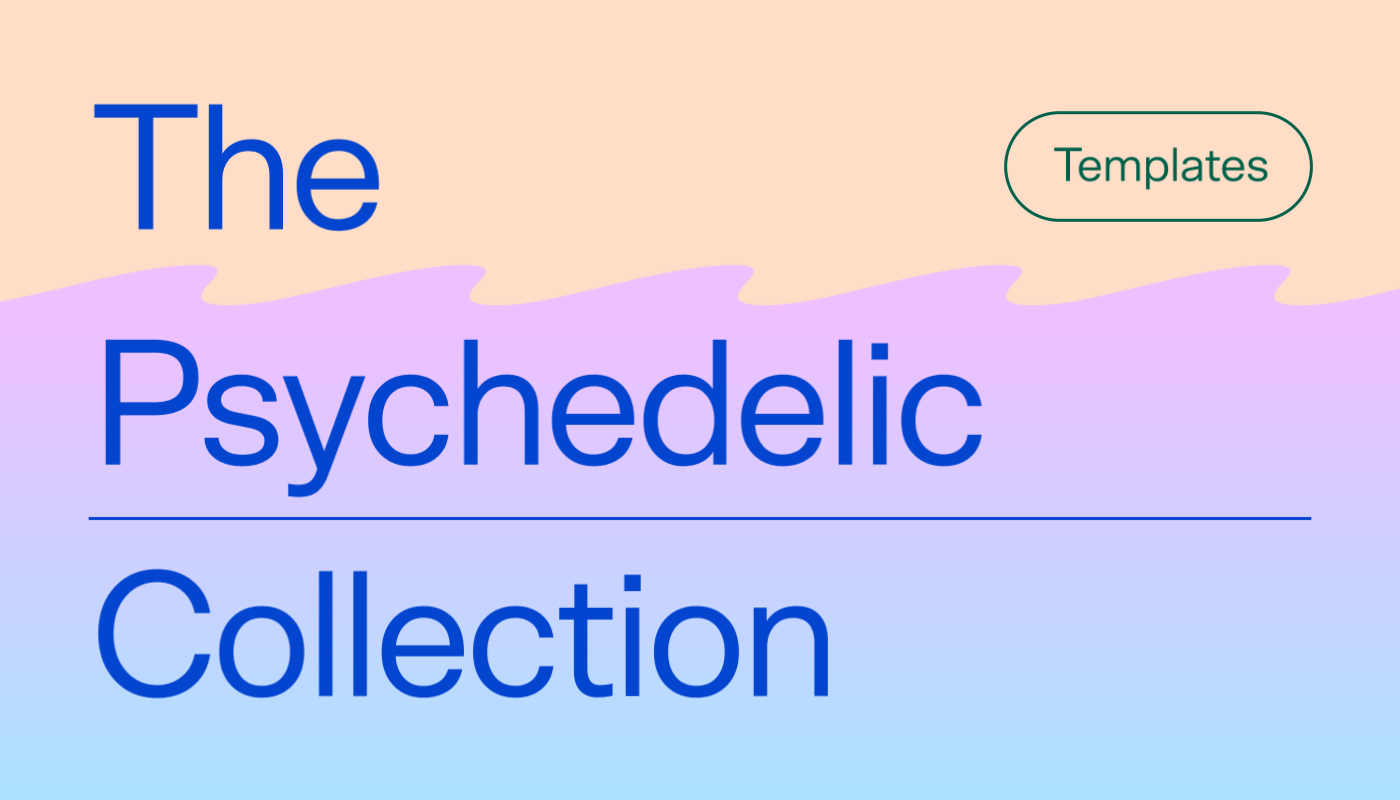 What is psychedelic design? Here's some inspiration.