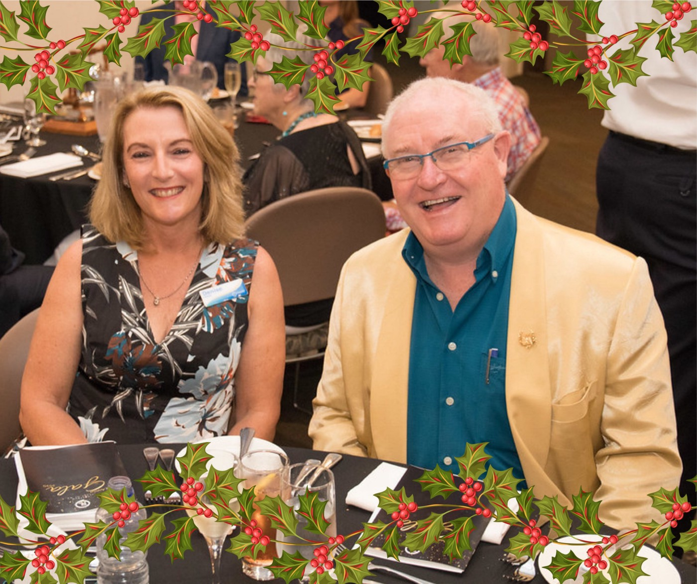 Denise and David Price at Rostrum Speaker of the Year Gala Event 2020