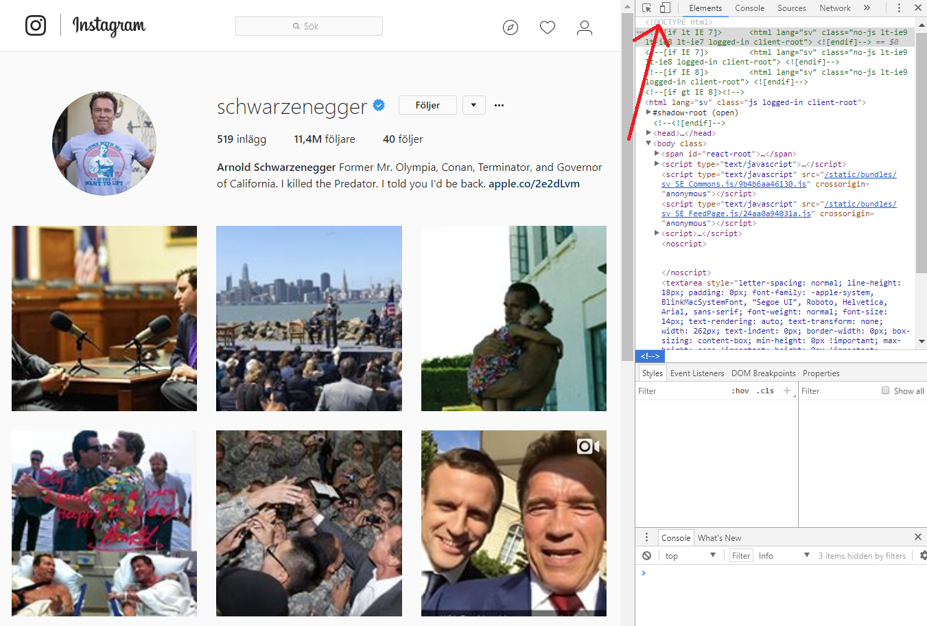 How to post on Instagram from a computer - Kristoffer Karlsson - Medium