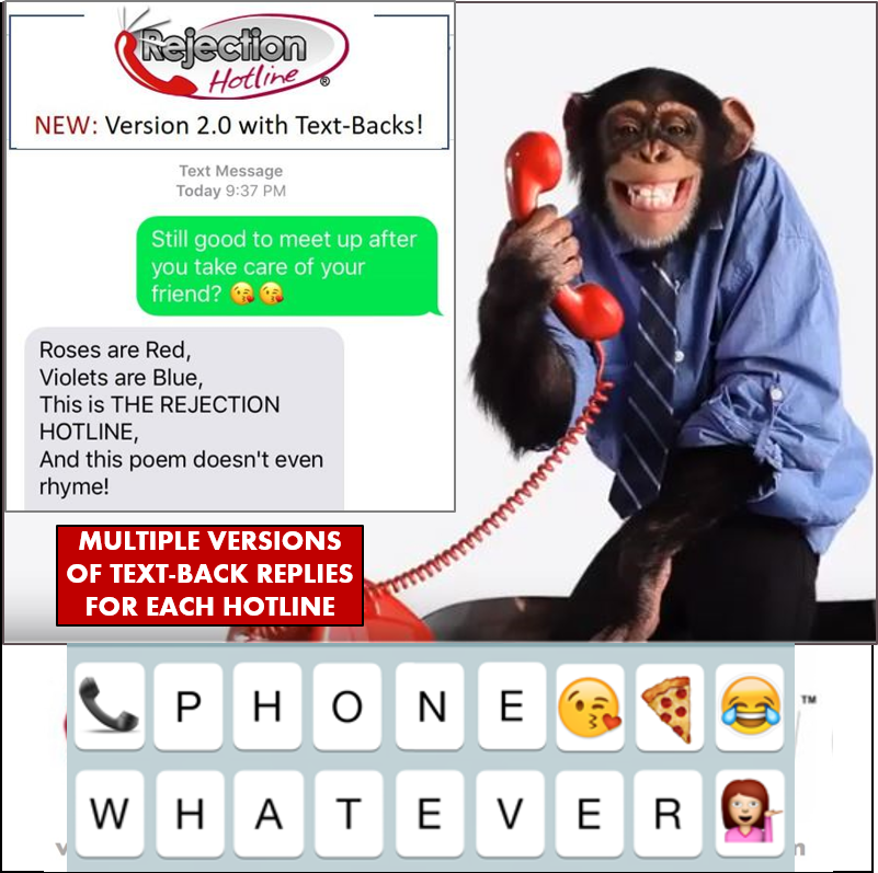 The Rejection Hotline® - AUDIO WHATEVER (part of The WHATEVER