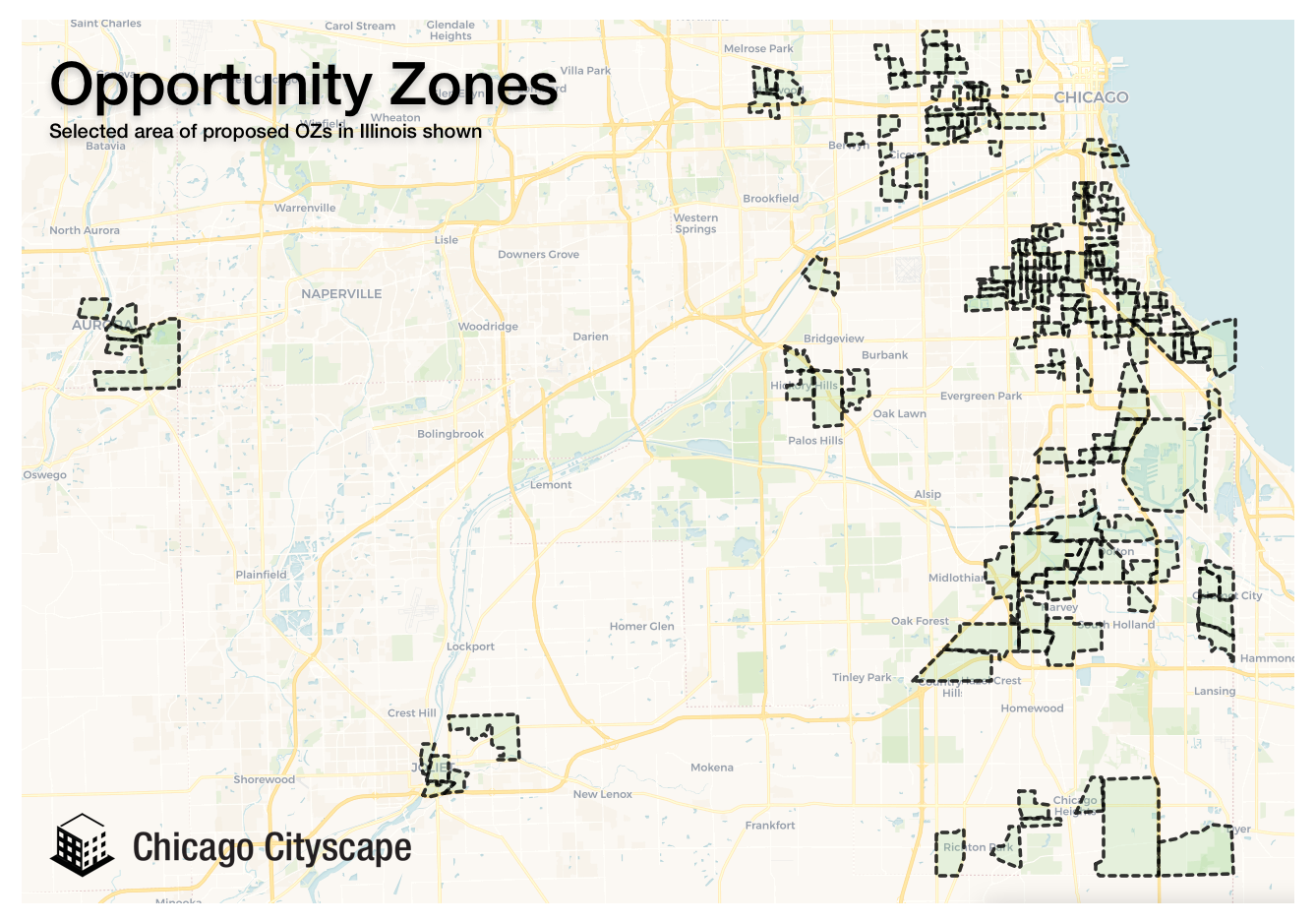 Now on the map: Proposed Opportunity Zones intend to spur investment