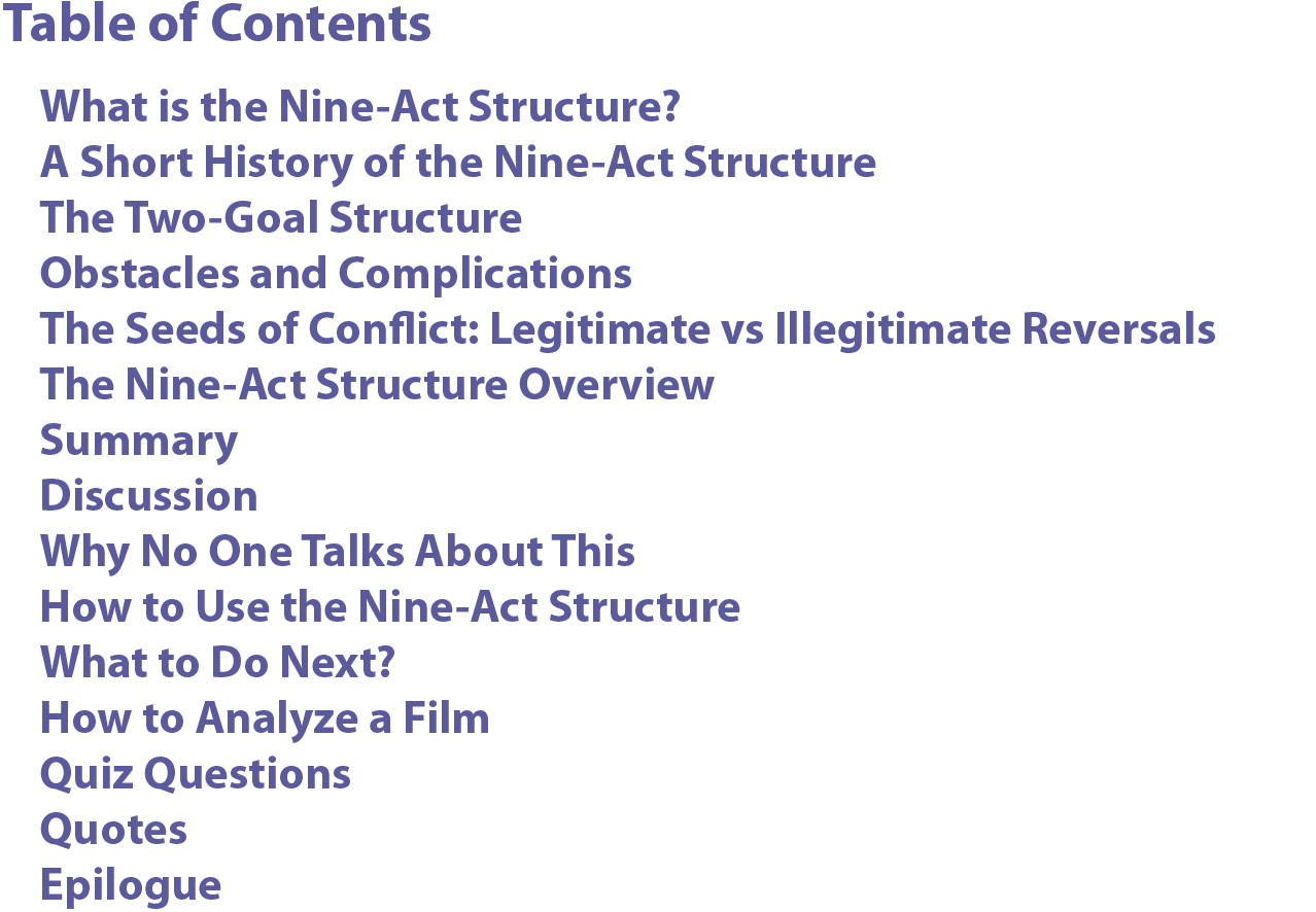 The Nine-Act Structure of Feature Films - David Siegel - Medium