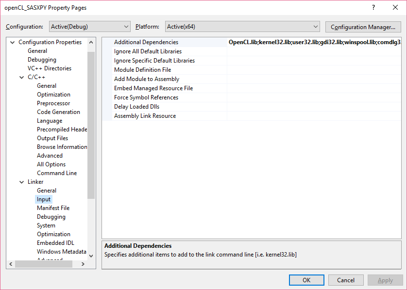 OpenCL on Visual Studio : Configuration tutorial for the confused