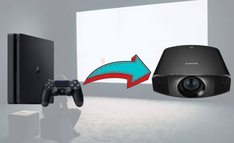 How to connect ps4 to projector [Wire and Wireless in simple step]