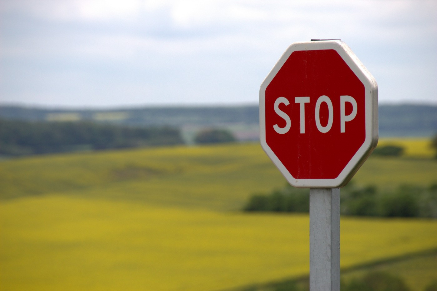 stop sign to suggest how we will prevent a bad commit
