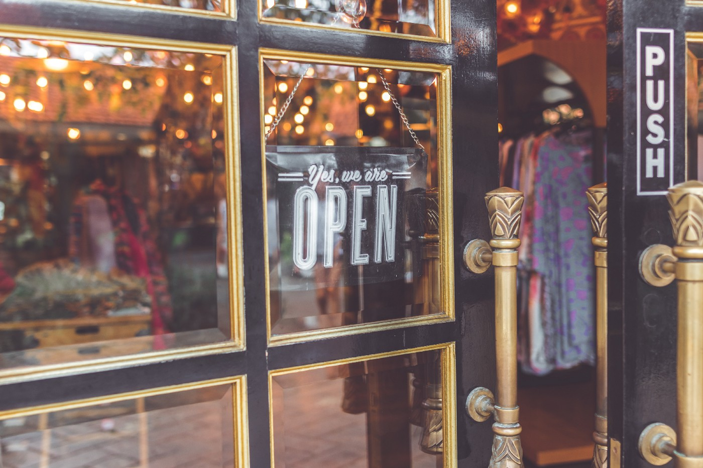 Support local businesses by shopping local