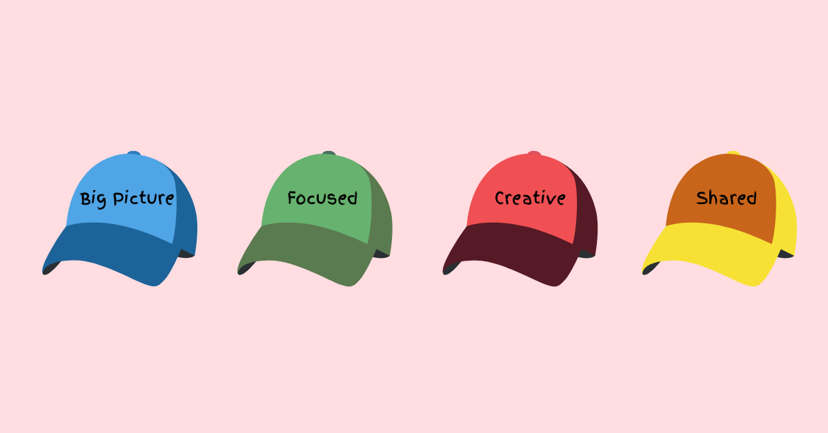 The 4 thinking caps of successful product managers