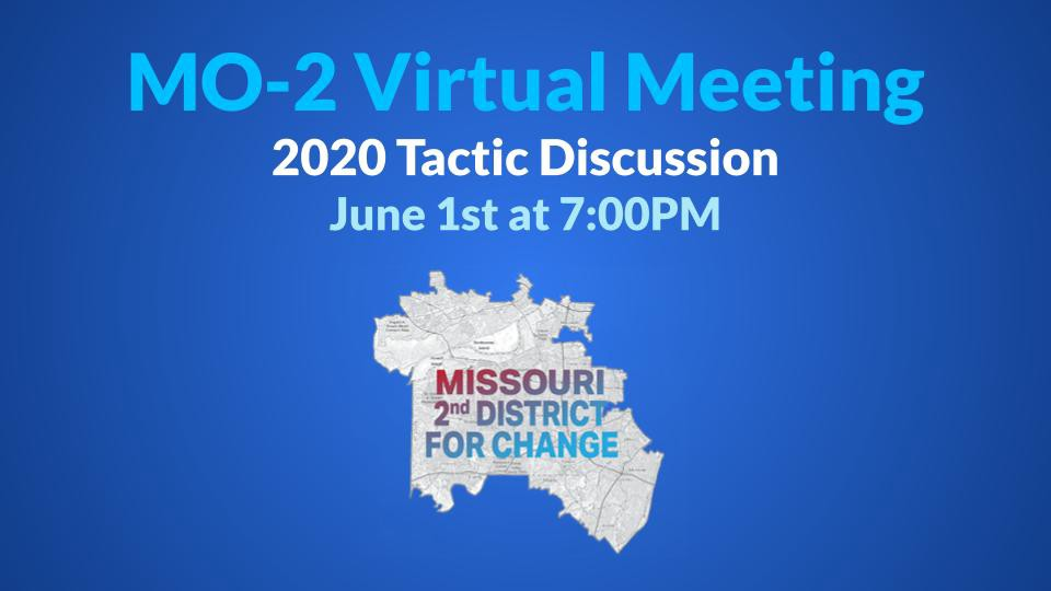 MO 2nd District for Change Virtual Meeting