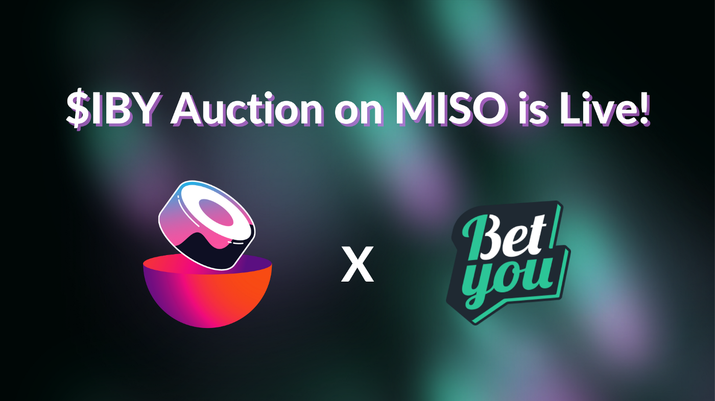 $IBY auction on MISO is live!