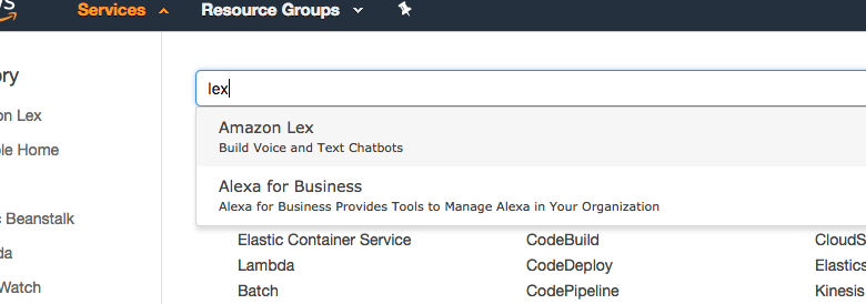 Build your own chat-bot using AWS Lex and Ruby on Rails