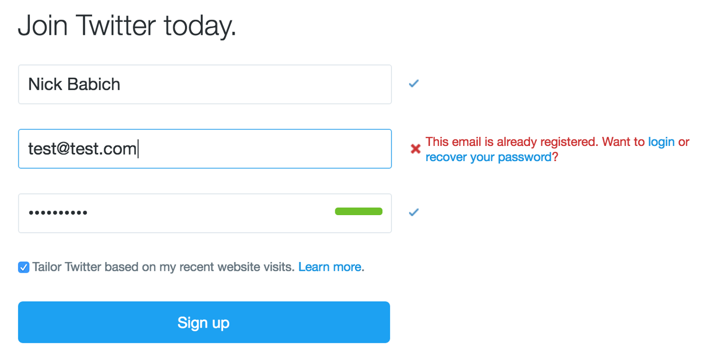 How to Craft Effective Registration - UX Planet