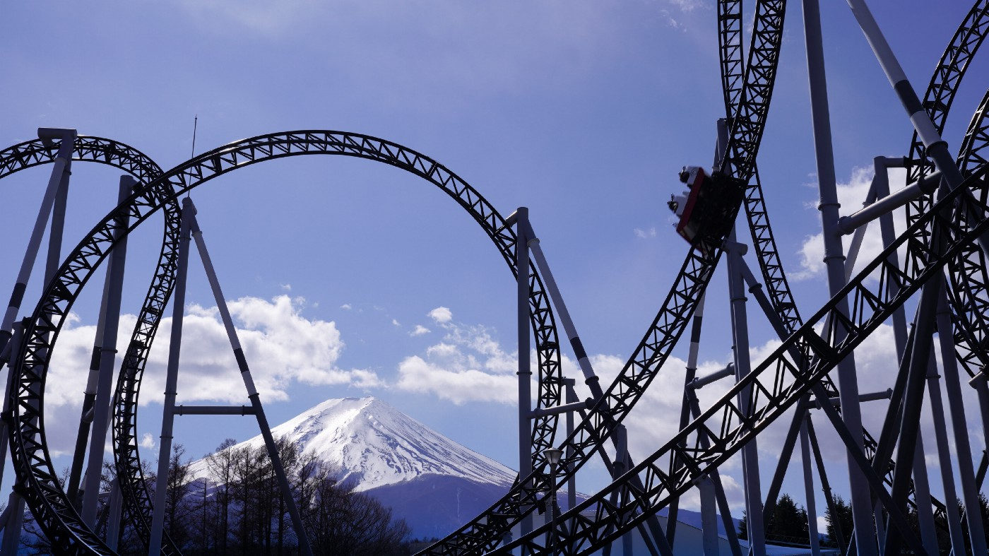 looping roller coaster