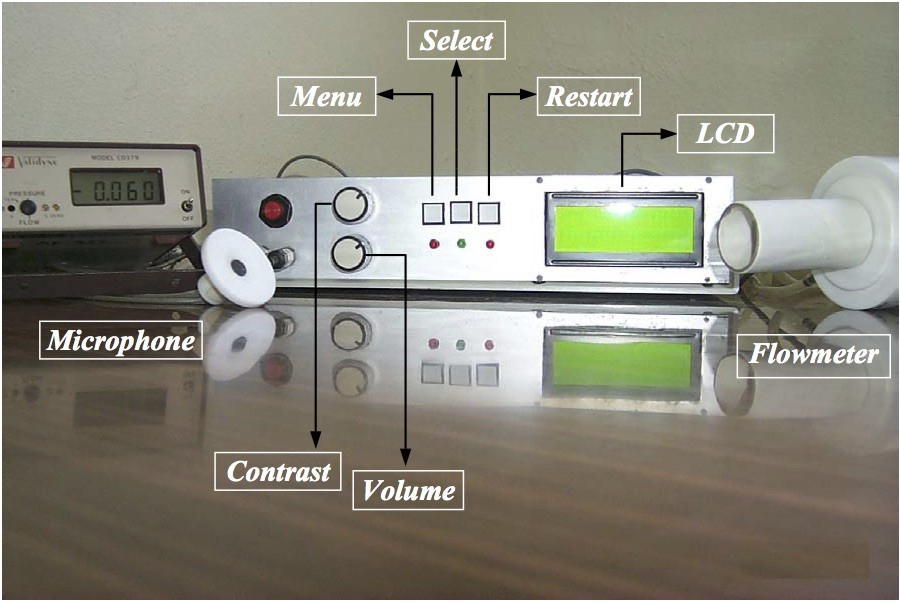 A DSP based instrument for real-time classification of