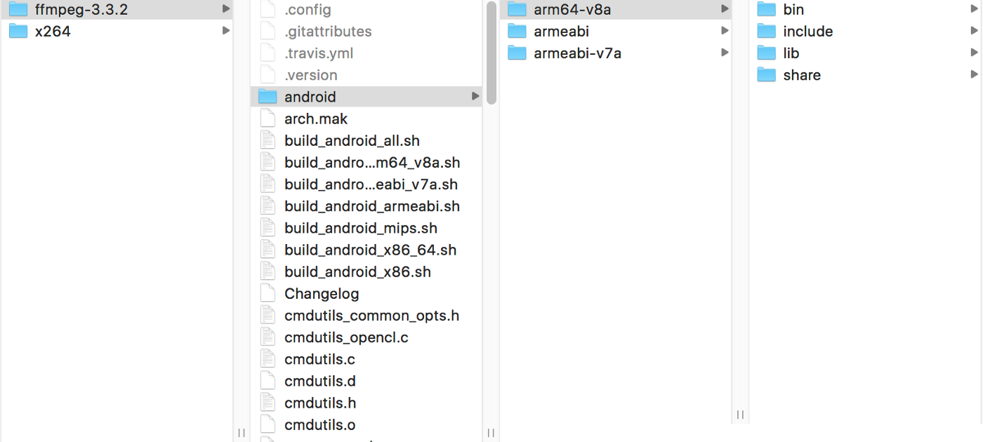 Android NDK  How to integrate pre-built libraries in case of the FFmpeg