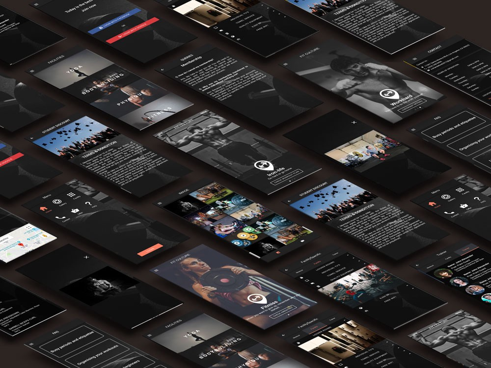 18 ready-to-use stunning IONIC and REACT NATIVE app templates & themes