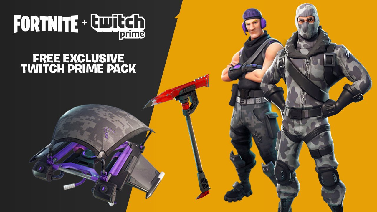 Even more Twitch Prime Loot in Fortnite! - Twitch Blog
