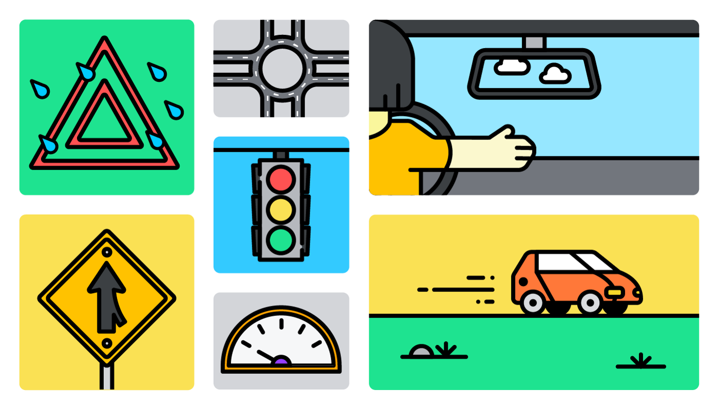 A few bad driving habits to fix in 2021.
