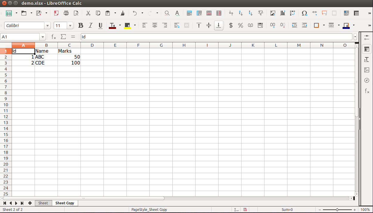 Working with Excel sheets in Python using openpyxl - Aubergine