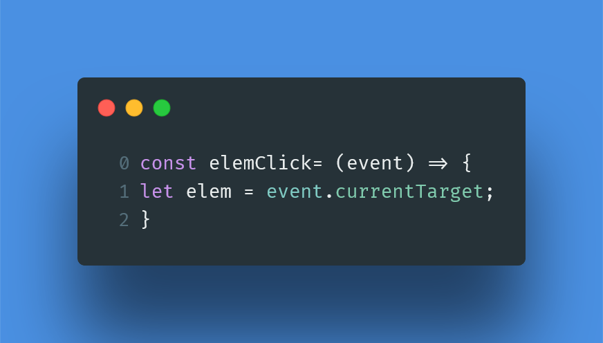 Get as e.target the exact element at which onClick is specified?