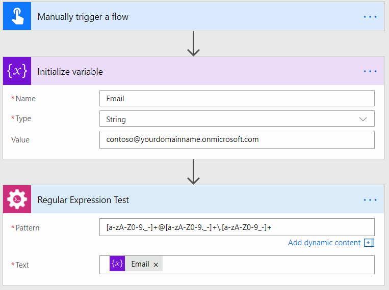 How to use match, test, replace regular expressions in Microsoft