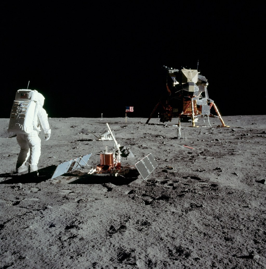 The man who should have taken first step on Moon - and it