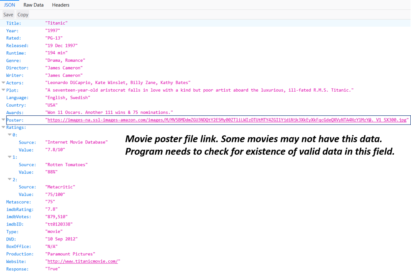 Step-by-step guide to build your own 'mini IMDB' database